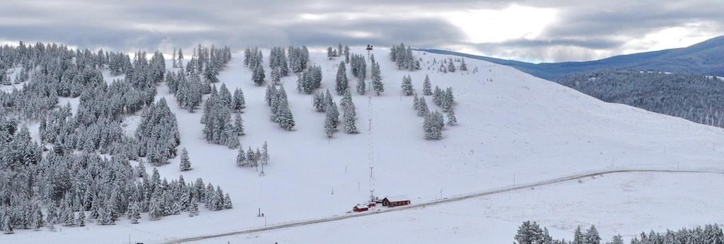 Sitzmark community ski hill in northeast Okanogan County