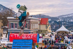 Rossland, B.C.'s winter carnival is the oldest in Canada. // Photo: Aaron Theisen