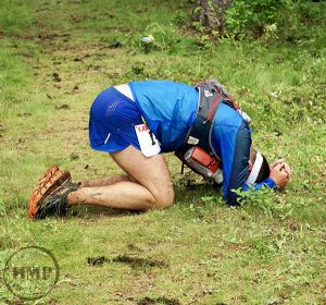 Race day challenges can be pretty epic. // Photo courtesy of the Kaniksu 50 & Emory Corwine Memorial Ruck Race.