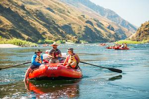 Photo of raft courtesy of ROW Adventures.