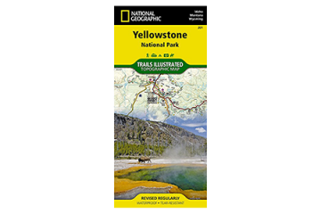 Photo of National Geographic trail map.