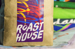 Photo of Roast House's Bloomsday Blend by Jon Jonckers.