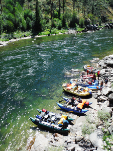 Photo of the main Salmon River by Harley McAllister.