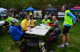 Photo of Spokane Bike to Work Week kickoff party.