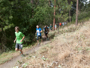 Photo of UpChuck Trail Run by Shallan Knowles.