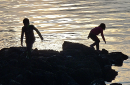 Photo of kids playing by Amy Silbernagel McCaffree.