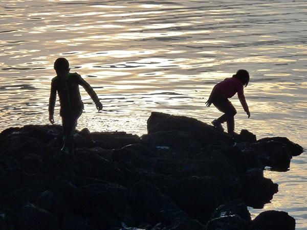 Photo of kids playing by Amy Silbernagel McCaffree.