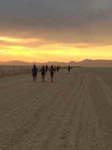 Photo of runners by Janelle McCabe