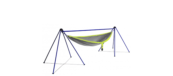 Photo of ENO's Nomad hammock stand.