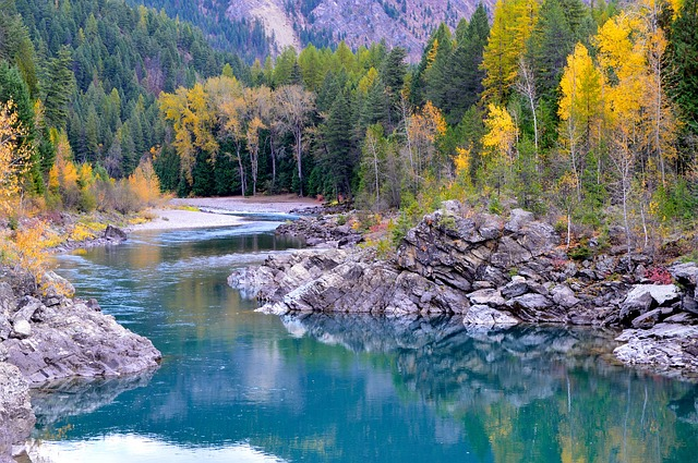 Photo of Flathead River. Photo from Common Domain.