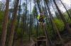 Photo of mountain biker by Aaron Theisen.