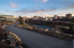 Photo of the Centennial Trail by Jon Jonckers.