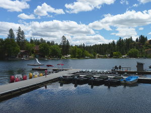 Photo of Williams Lake by Amy S. McCaffree.