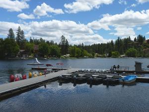 Photo of Williams Lake by Amy S. McCaffree.