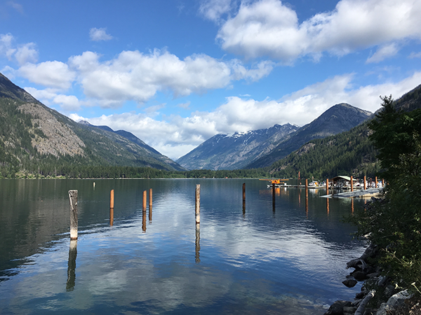 Photo of Stehekin Valley by Nick Thomas.