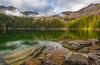 Photo of Hemlock Lake by Aaron Theisen.