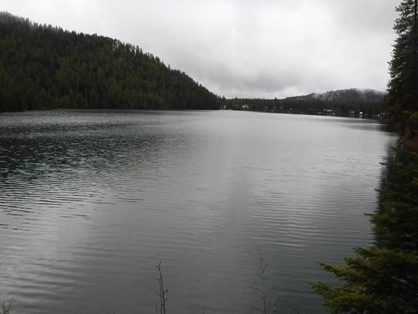 Photo of Bead Lake by Holly Weiler.
