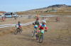 Photo of cyclocross racers by Hank Greer.