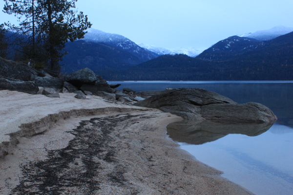 Photo of upper Priest Lake by Holly Weiler.