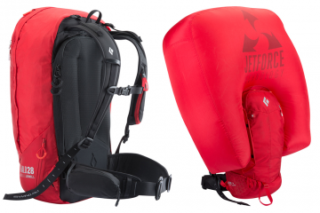 Photo of Black Diamond's Jetforce Avalanche Airbag Packs.