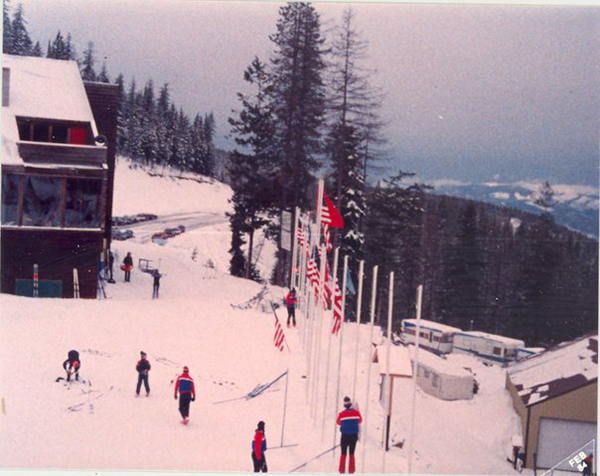 Photo from the Silverhorn days 1973-1989.