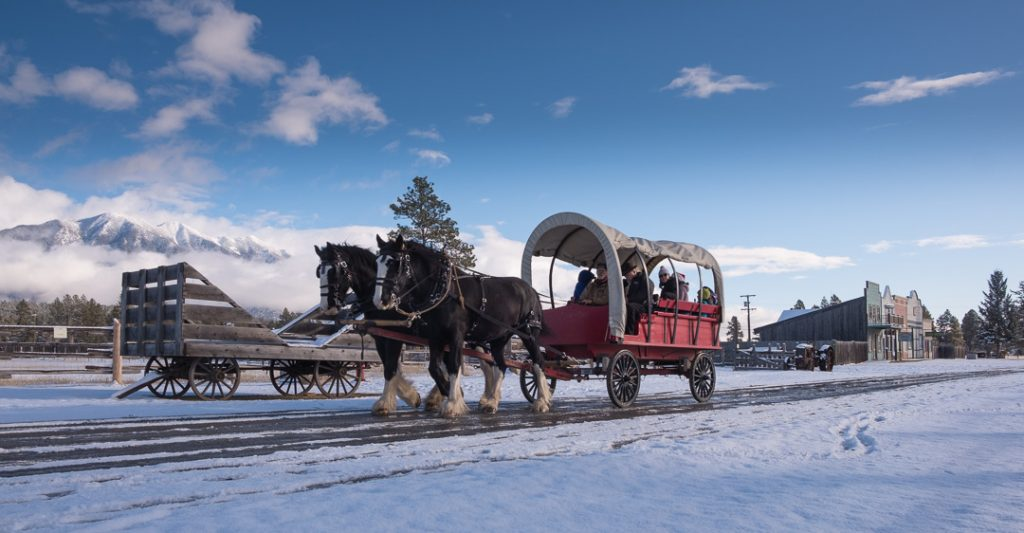 Cranbrook is close to two ski famed ski resorts, the Canadian Rockies Airport and as pictured here, Fort Steele Heritage Town. (Photo: Janice Strong)
