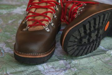 Photo of hiking shoes.