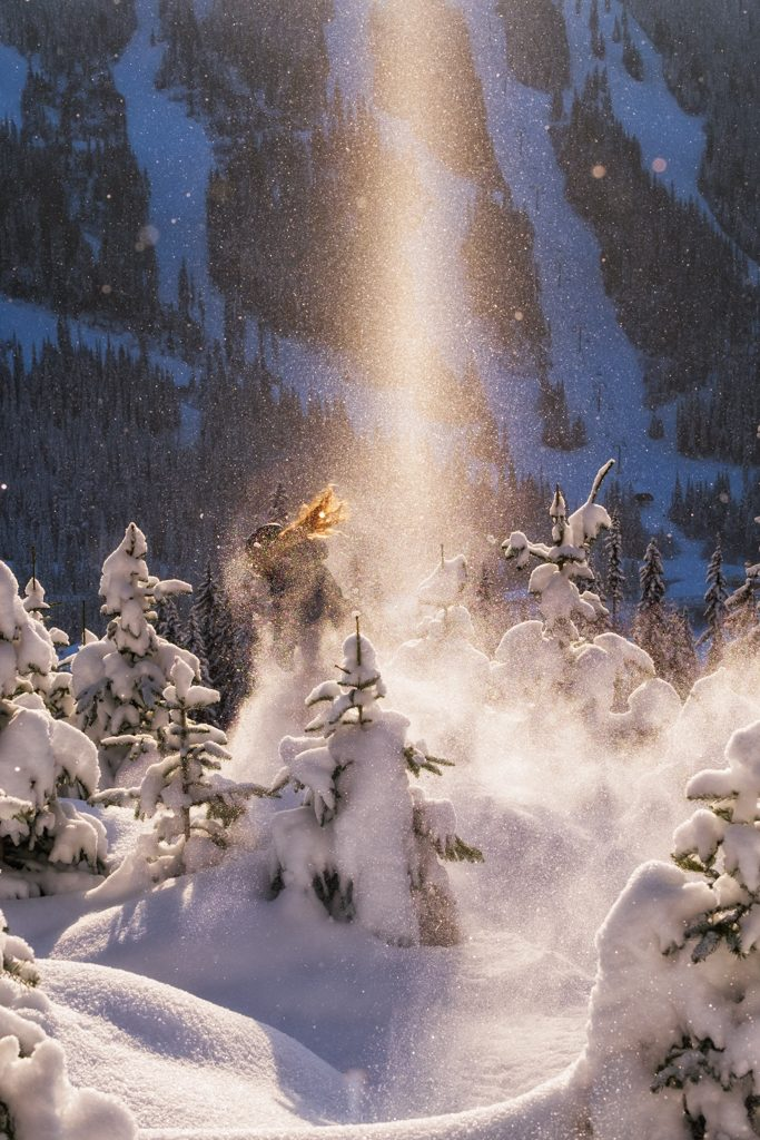 "Whether or not you catch a ""sparkle tornado,"" Sun Peaks shines (Photo: Aaron Theisen)"