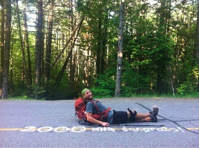 Plaza reaches the 2,000-mile mark on the Appalachian Trail