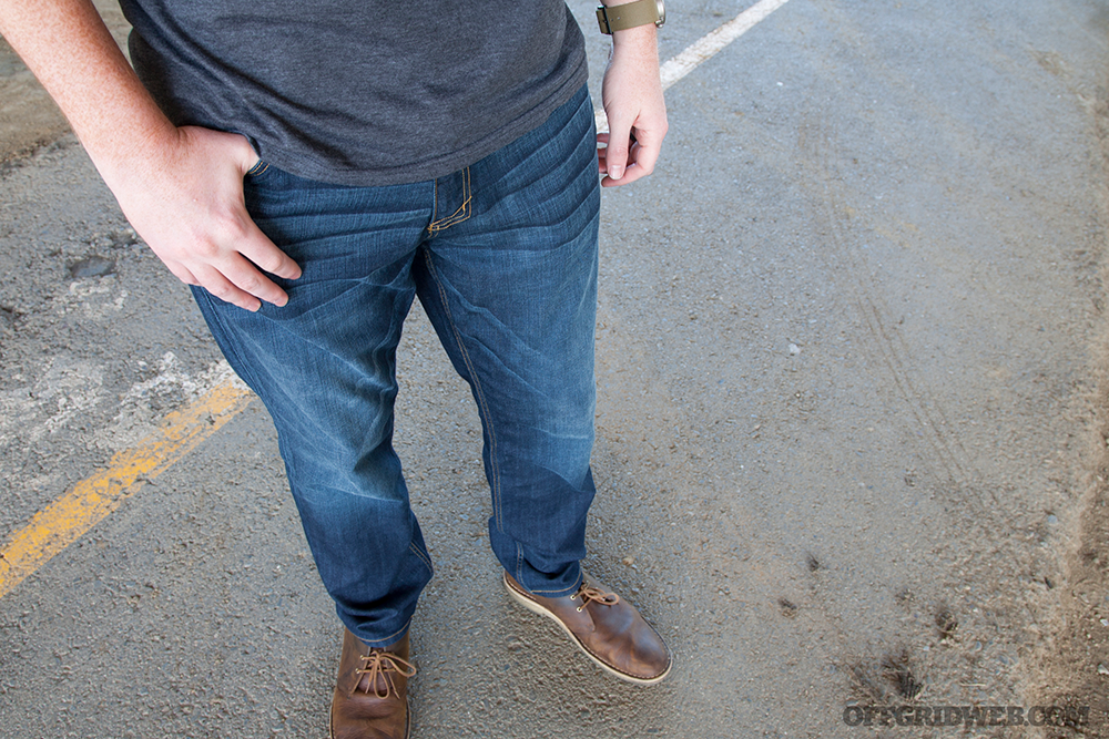 Photo of 5.11 Tactical Defender Flex Jeans.