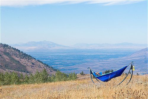 Photo of ENO hammock.