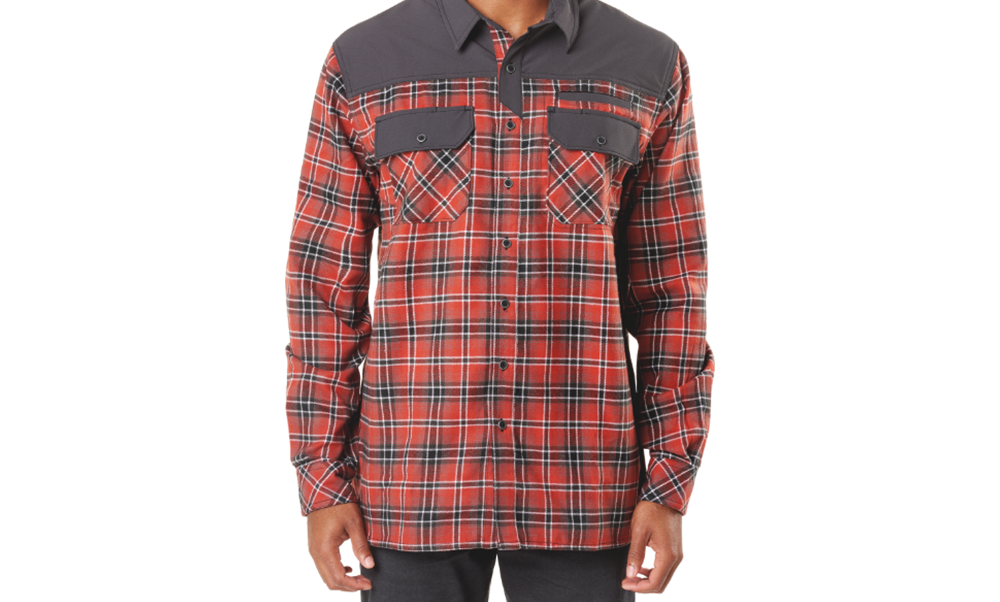 Photo of 5.11 Endeavor flannel shirt.