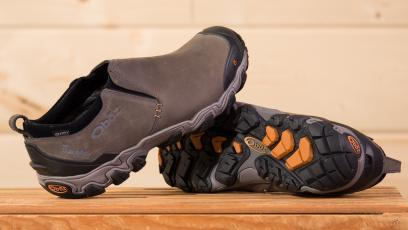 Photo of Oboz men's Big Sky low winter shoes.