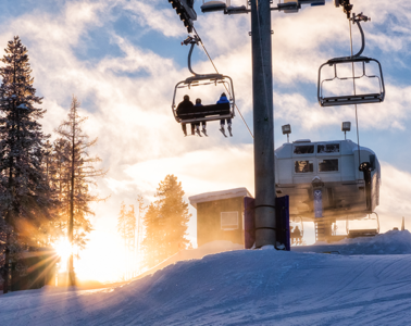 Photo of chairlift by Aaron Theisen.