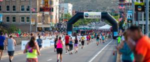 Photo of Missoula Marathon runners