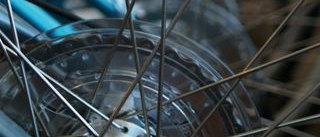 Photo of bike spokes