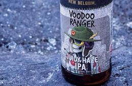 photo of Voodoo Ranger Juicy Haze IPA.