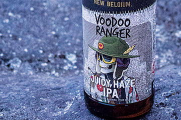 photo of Voodoo Ranger Juicy Haze IPA.