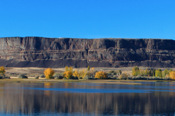 Photo of Steamboat Rock.