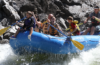 Photo of whitewater raft.