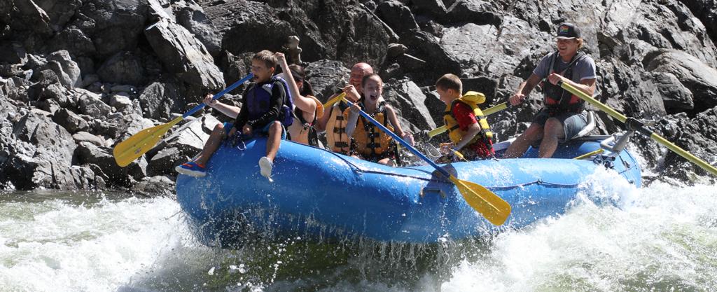 Photo of whitewater raft.