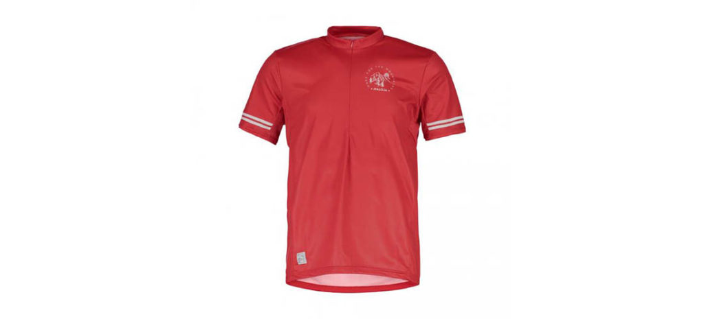 Photo of the DomenicaM All Mountain 1/2 jersey by Maloja.