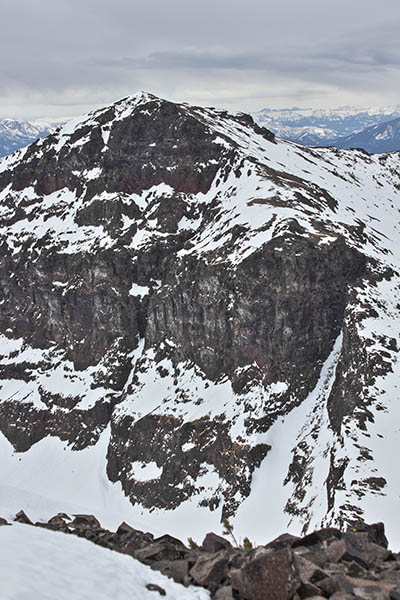 Photo of the summit of Mount Chisholm.