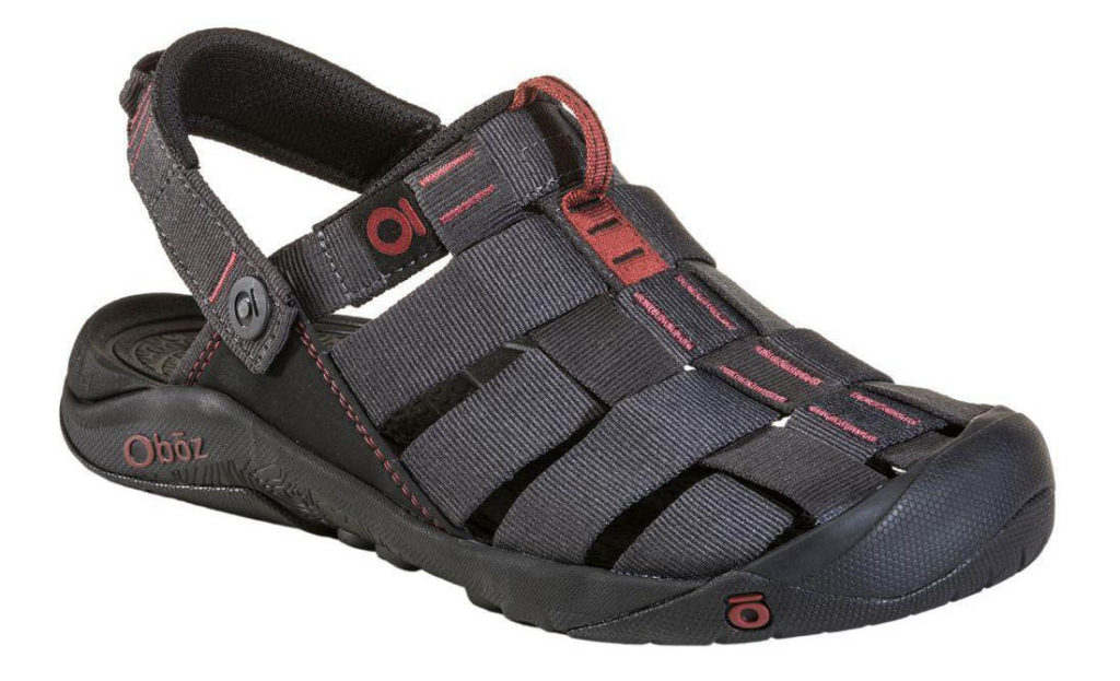 Photo Oboz Campster sandles.