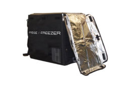 Photo of the CSI Black Ice Fridge/Freezer Cooler.