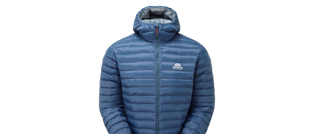 Photo of Mountain Equipment Frostline Down Jacket in blue.