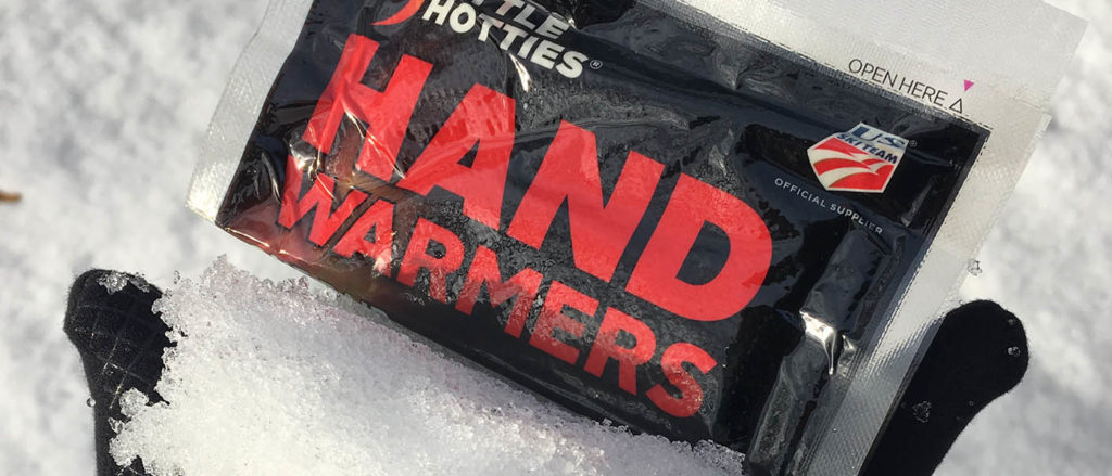 Photo of hand warmers in packaging.
