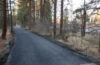 Photo of the repaired section of the Centennial Trail.