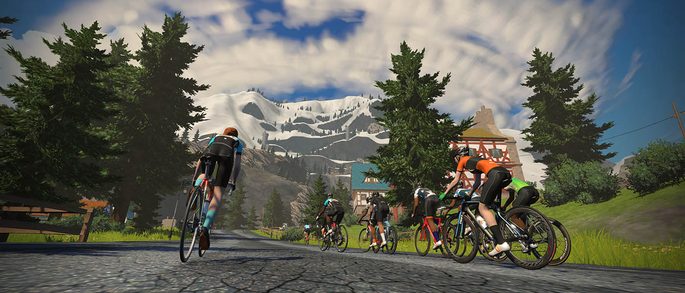 Zwift: Make Riding a Bike Trainer Fun Again | Out There Outdoors