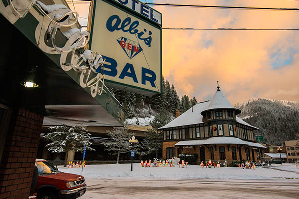 Photo of Albi's Bar & Hotel in Wallace.